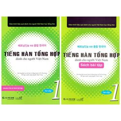 Trọn bộ tiếng hàn tổng hợp dành cho người Việt Nam giá sỉ