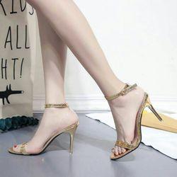 sandal cao gót kim sa giá sỉ