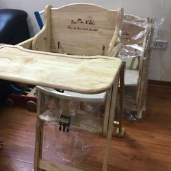 Ghế gỗ ăn dặm cho bé giá sỉ