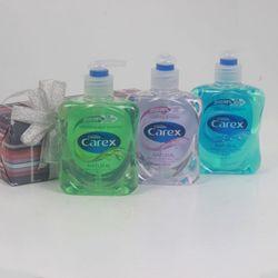 Nước rửa tay Carex natural 250ml xanh lá trắng xanh biển giá sỉ