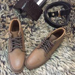 Giày boot cheseal cao cổ da bò MS102 giá sỉ