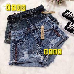 Quần Short Jeans thêu giá sỉ