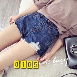 Quần Short Jeans tua lai cào rách thời trang giá sỉ