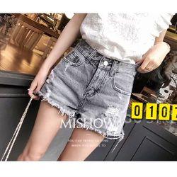 Quần Short Jeans màu lông chuột giá sỉ