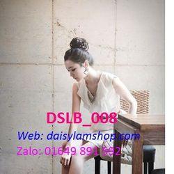 Búi tóc giả dạng dây cột xoăn hoa DLSB008 giá sỉ
