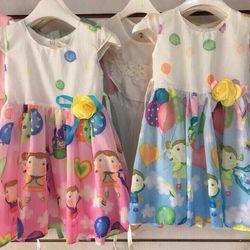 Đầm bé gái form lớn 20 giá sỉ