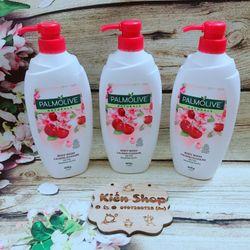 sữa tắm Palmolive 600ml Tinh chất Hoa Anh đào