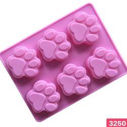 Hàng mới về🧚♀️Khuôn silicon chịu nhiệt tốt Hình 10 bàn chân chó làm khuôn rau câu thạch trà sữa khuôn làm bánh đổ socola Sỉ 25k / cái Hàng ik hình mẫu có sẳn giá sỉ