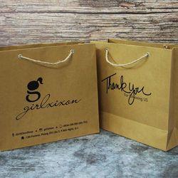 Túi giấy Kraft cho thời trang giá sỉ