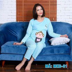 Bộ quần áo bầu và sau sinh có khóa cho con bú