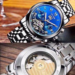 Đồng hồ Tevise Cơ - Mặt Xanh giá sỉ