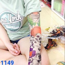 găng tay chống nắng tattoo giá sỉ 14k/đôi giá sỉ