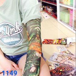găng tay chống nắng tattoo giá sỉ 14k/đôi