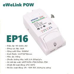 Công tắc WiFi thông minh giám sát điện năng tiêu thụ eWeLink EP16 giá sỉ