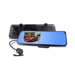 Camera hành trình trước sau dạng gương chiếu hậu tích hợp camera lùi giá sỉ