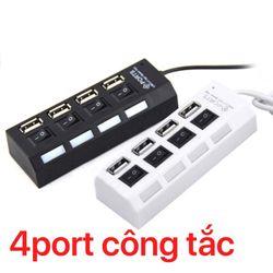Hup USB 4port Công tắc giá sỉ