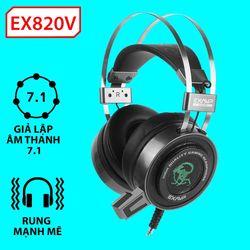 Headphone EX820V LED Rungm giá sỉ