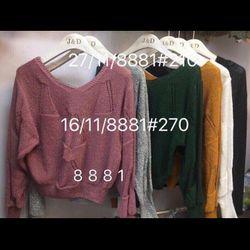Áo len Quảng Châu 140k NY3107 giá sỉ