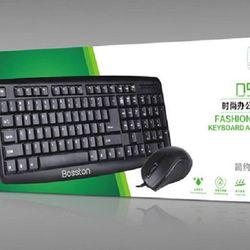 Combo Chuột và Bàn phím USB có dây Bosston D5200 giá sỉ