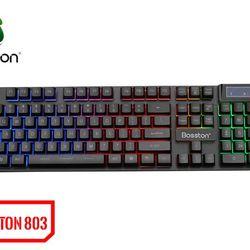 Bàn phím Keuboard Bosston 803 Giả cơ LED giá sỉ