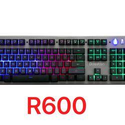 Bàn phím Keyboard Bosston R600 LED game giá sỉ