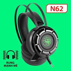 Headphone N62 LED Rung giá sỉ
