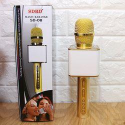 Mic Karaoke Bluetooth SD08 giá sỉ