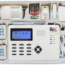 KARASSN KS-899 tủ báo động 16 Wireless zone 4 vùng có dây 1 tủ 1 hồng ngoại 1 công tắc từ 2 remote giá sỉ