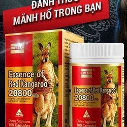 Essence Kangaroo 20800mg Viên Uống Tăng Cường Sinh Lực Nam Úc 100
