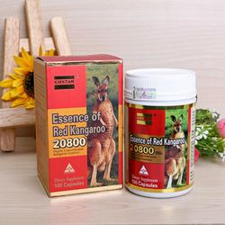 Thực phẩm chức năng Hỗ trợ sinh lý COSTAR ESSENCE OF RED KANGAROO 20800 MAX