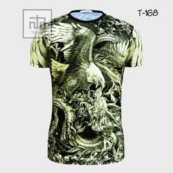 Áo thun nam in hình 3D T168A giá sỉ
