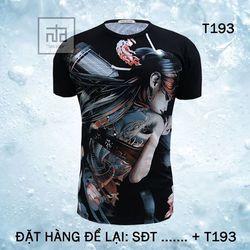 Áo thun nam in hình 3D T193A giá sỉ, giá bán buôn