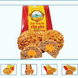 Bánh Trung Thu Yến sào hộp 4 bánh - 200g - 4 thập cẩm giá sỉ