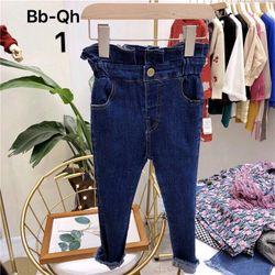 Quần jean lưng cao nhí - QBG0408115 giá sỉ