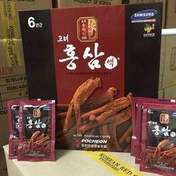 Nước uống Hồng sâm Korean red ginseng lingzhi drink gold giá sỉ