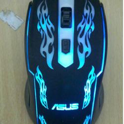 Mouse Asus 4D dây dù led 7 màu giá sỉ