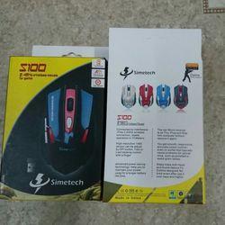 Mouse Simetech wireless S100 giá sỉ