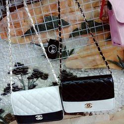 Túi đeo chéo phối màu nữ giá sỉ, giá bán buôn