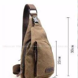 Túi đeo chéo nam thời trang nâu giá sỉ