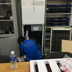 Máy lạnh tủ đứng LG inverter 5hp lắp đặt tại Bình Dương