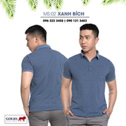 Áo thun nam - áo thun cổ bẻ golio - áo đồng phục cotton 100 - xưởng bán lẻ lớn nhất SG