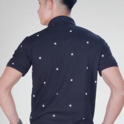 Áo thun nam - áo thun in sao - đồng phục cotton 100 - xưởng bán sỉ