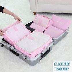 Bộ 6 Túi Đựng Đồ Du Lịch xếp gọn gàng trong vali Chống Thấm Bag in Bag GD40-6Tvali giá sỉ