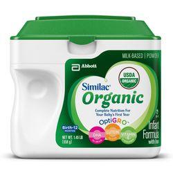 Sữa similac Organic 658g xanh lá cây hộp giá sỉ