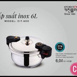 Nồi áp suất đun trên bếp từ CIT-600 6L giá sỉ
