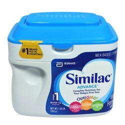 Sữa bột Similac Advance tối ưu hệ miễn dịch dành cho bé từ 0-12 tháng của Mỹ giá sỉ