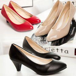 Giày búp bê nữ có gót đáng yêu - 169 - 96169 giá sỉ