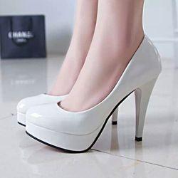 Giày cao gót bít chân thời thượng cho chân nang thêm dài-160 - 96160 giá sỉ