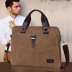 Túi vải bố siêu bền tiện làm văn phòng du lịch nhiều ngăn-302 - 98302 giá sỉ