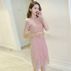 Đầm Ren Body Tay Ngắn Thời Trang Có Size M Đến XXL giá sỉ